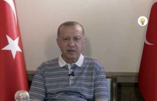Cumhurbaşkanı Erdoğan: Kuzey-Güney Kıbrıs diye...