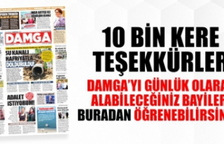 DAMGA Gazetesi nerede ve hangi bayilerde satılıyor?