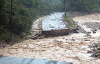 Düzce'de sel felaketi: Gün ağarınca ortaya...