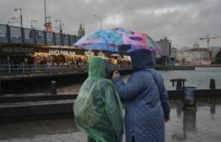 Meteoroloji'den İstanbul için turuncu kodlu...