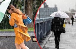 Meteoroloji saat verdi: Sağanak yağış geliyor!