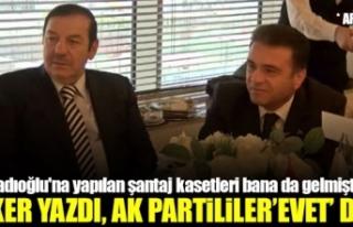 Sedat Peker yazdı, Ak Partililer 'evet'...