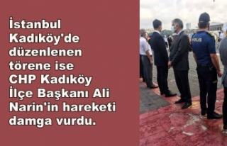 Cumhurbaşkanı Erdoğan'ın mesajı okunduğu...