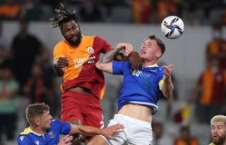 Galatasaray avantajı rakibine kaptırdı 1-1