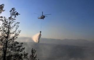 Haluk Levent duyurdu: AHBAP olarak yangın söndürme...