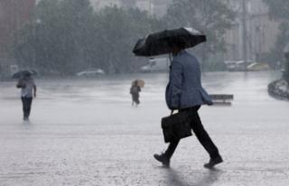 Meteoroloji'den 4 il için sağanak yağış...