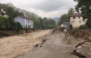 Şehir sele teslim oldu: 1 Kişi kayıp