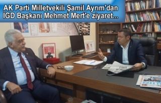 AK Parti Milletvekili Şamil Ayrım'dan İGD...