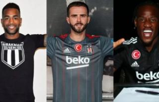 Beşiktaş transferde şov yaptı