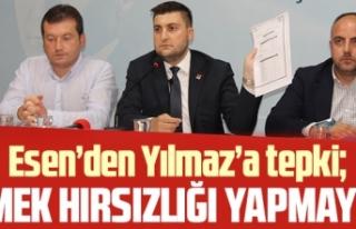 CHP Silivri İlçe Başkanı Berker Esen: Emek hırsızlığı...