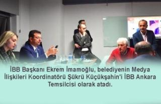 İBB Başkanı Ekrem İmamoğlu, Ankara'ya temsilci...