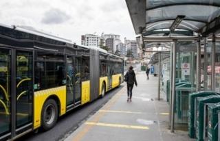 İstanbul'da sağlık çalışanları toplu ulaşımı...