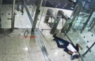 İstanbul Havalimanı'nda feci ölüm! Midesinde...