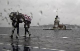 İstanbul'un kritik yağış uyarısı! AFAD...