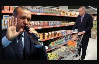 İşte Erdoğan'ın bahsettiği o marketler ve...