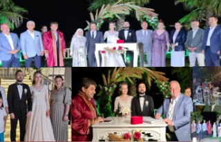 Spor ve siaset camiasını buluşturan düğün