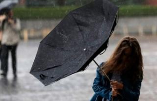 Tedbirinizi alın: Kuvvetli fırtına ve sağanak...