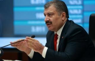 Türkiye'de koronavirüsten 283 kişi daha hayatını...