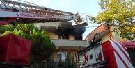 Silivri'de Ev Yangını