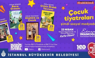İBB, 23 Nisan'da Çocukları Tiyatroyla Buluşturuyor!