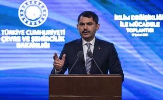 Çevre ve Şehircilik Bakanı Murat Kurum: İklim değişikliği sonuç bildirgesini meclise sunacağız