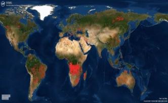 Dünyadaki yangınları takip eden platform
