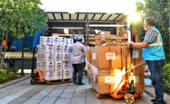 Esenyurt Belediyesi'nden, selden etkilenen vatandaşlara yardım