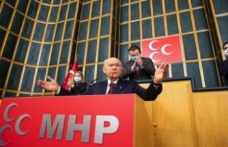 Devlet Bahçeli'den muhalefete tepki: CHP ve İyi Parti PKK'nın yedek kulübesidir