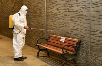 Esenyurt Belediyesi tarafından toplu kullanım alanlar Dezenfekte yapılıyor