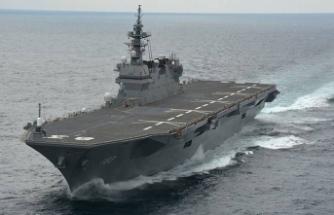 Rusya tarihinde bir ilk: Limana giriş yapan ilk Rus askeri gemisi