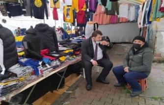 CHP Başakşehir İlçe Başkanı Deniz Bakır: Esnafın sorunlarını dile getirdi