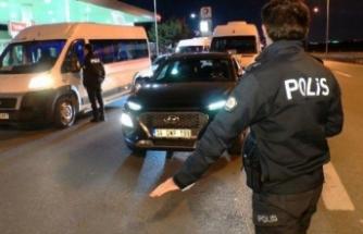İstanbul'da seyahat kısıtlaması başladı