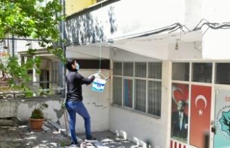 ESENYURTLU ANNELERİN SEPETLERİ GÜLLERLE DOLDU
