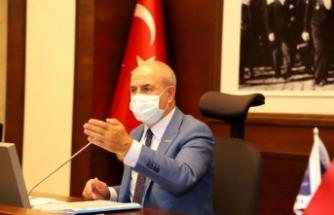 """Başkan Akgün: """"Tepecik planları bitti Türkoba eylülde bitecek"""""""