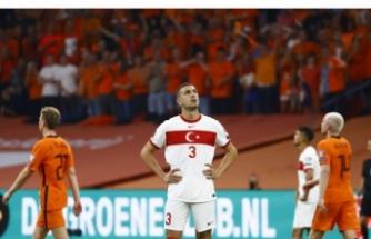 A Milli Futbol Takımımız Hollanda'ya 6-1 yenildi
