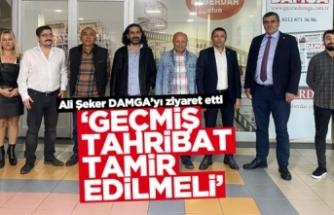 Ali Şeker: Geçmiş tahribat tamir edilmeli