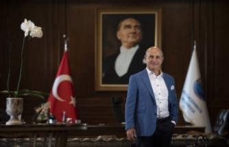 """Başkan Akgün: """"Atatürk'ün kurduğu Türkiye Cumhuriyeti'nde yaşamaktan gurur duyuyoruz"""""""