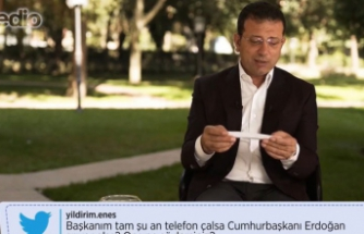 Ekrem İmamoğlu'nu 'Telefon çalsa, Erdoğan arasa' sorusunu böyle yanıtladı