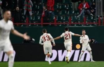 Galatasaray Rusya'dan lider dönüyor! İşte puan durumu...