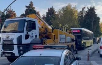 İETT otobüsü ile otomobil çarpıştı! 7 yaralı
