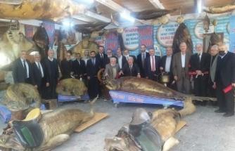 Müftülerden Türkiye Deniz Canlıları Müzesi'ne ziyaret