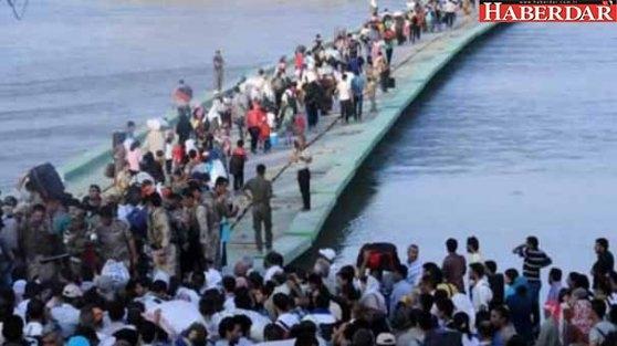 100 bin kişi Türkiye'ye doğru harekete geçti