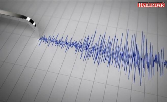 Ege Denizi'nde peş peşe depremler