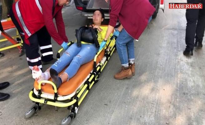 Kocasının tarafından vuruldu