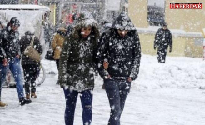 Meteoroloji'den soğuk ve kar yağışı uyarısı!