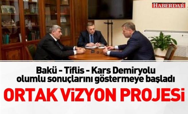 """""""Bakü- Tiflis- Kars Demiryolu olumlu sonuçlarını göstermeye başladı"""""""