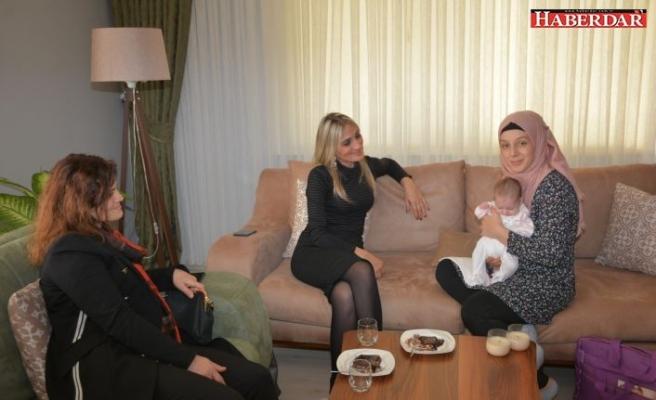 """Çatalca Belediyesi """"Hoş Geldin Bebek """" Projesiyle Ailelerin Mutluluğunu Paylaşıyor"""
