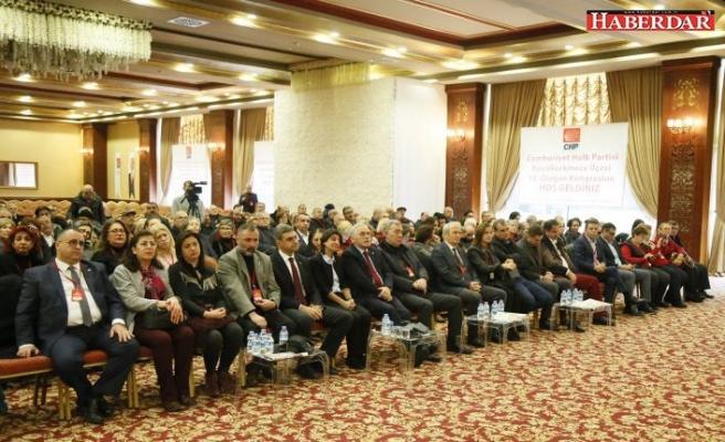 CHP BÜYÜKÇEKMECE'DE SESSİZ KONGRE
