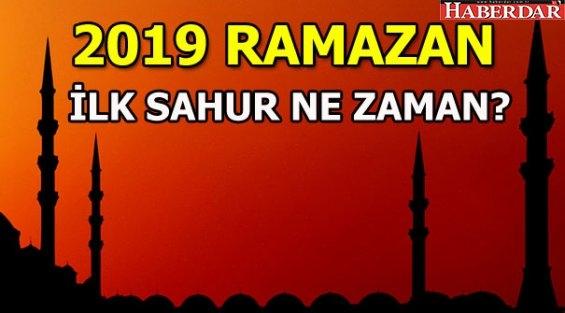 2019 Ramazan ne zaman başlıyor?