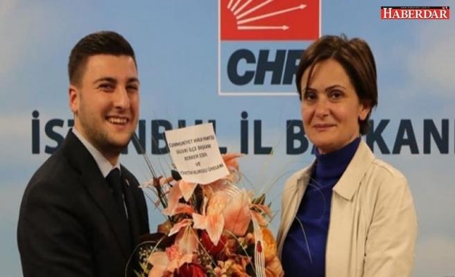CHP Silivri İlçe Başkanı Berker Esen ve yönetimi Kaftancıoğlu'nu ziyaret etti